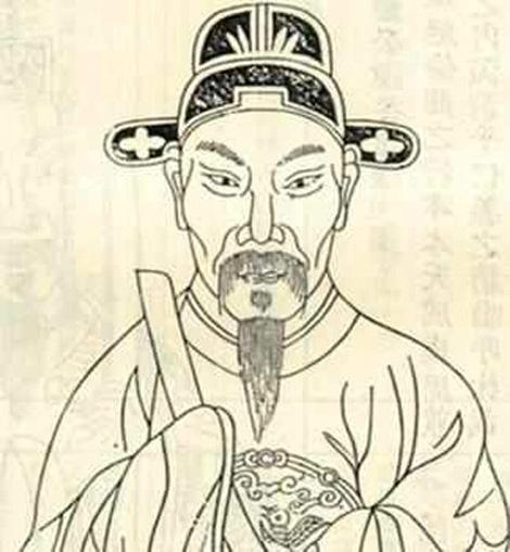"""Hoàng Thường - tác giả của """"Cửu âm chân kinh""""."""