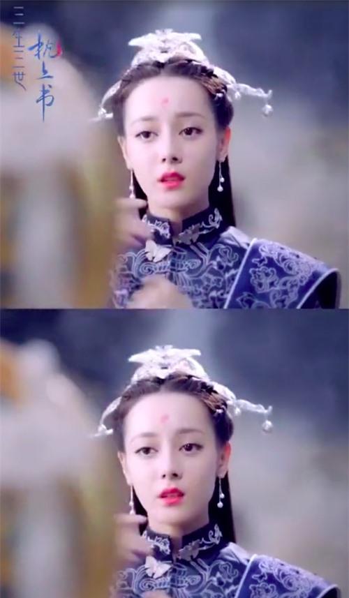 Váy xanh lộng lẫy: Địch Lệ Nhiệt Ba - Lý Thấm ai cũng xinh đẹp mê đắm nhưng xuất sắc nhất là Lưu Thi Thi  - Ảnh 3.
