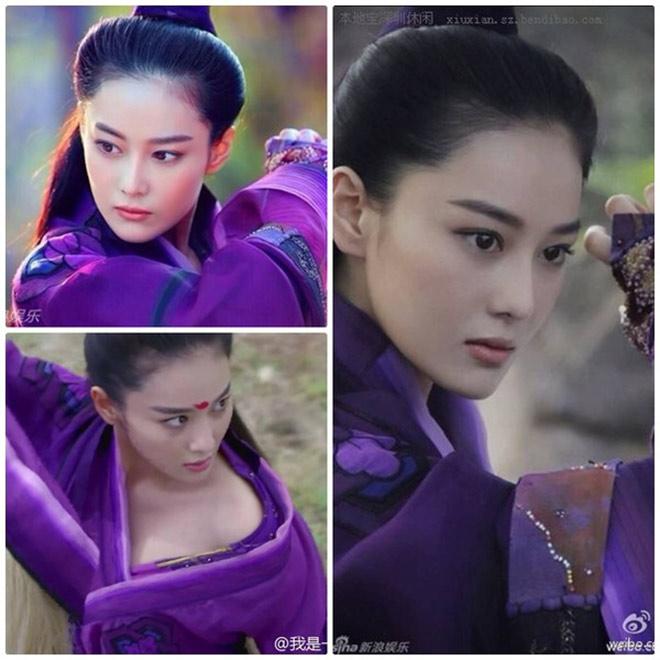 Lý Mạc Sầu do nữ diễn viên Trương Hinh Dư thủ vai