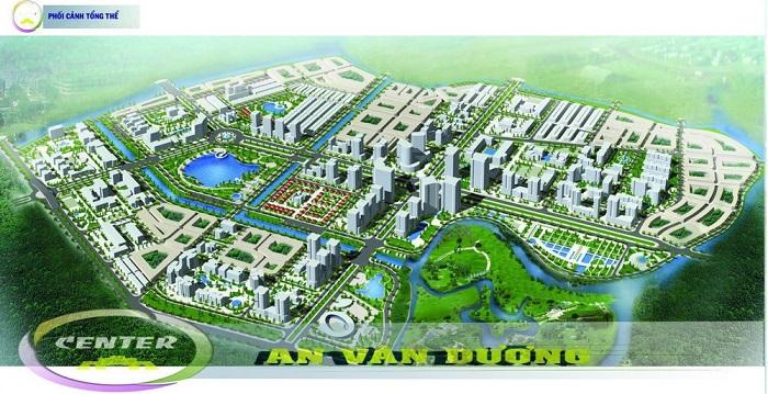 Khu vực nghiên cứu đầu tư dự án khoảng 29,86 ha thuộc Khu A - Đô thị mới An Vân Dương
