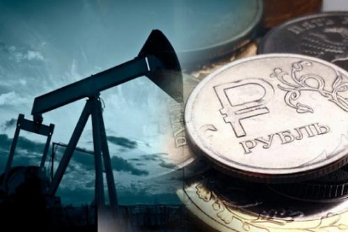 Đồng RUB Nga đang hướng tới tỷ giá 100 RUB ăn 1 USD. Ảnh: TASS.
