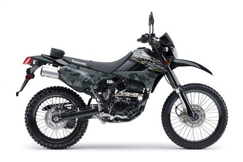 5. Kawasaki KLX250.