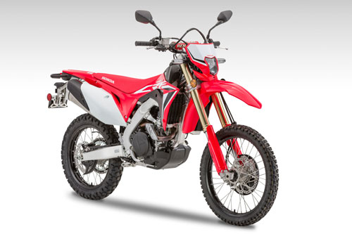 2. Honda CRF450L.