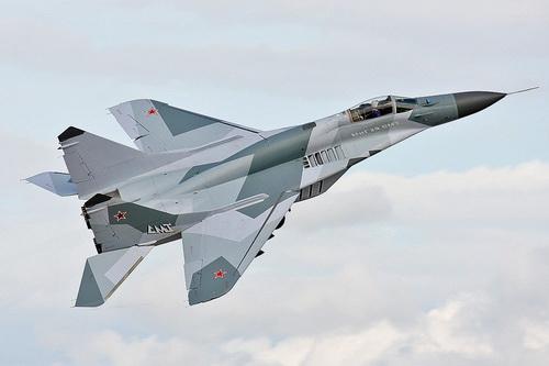 Tiêm kích MiG-29SMT của Không quân Nga. Ảnh: TASS.