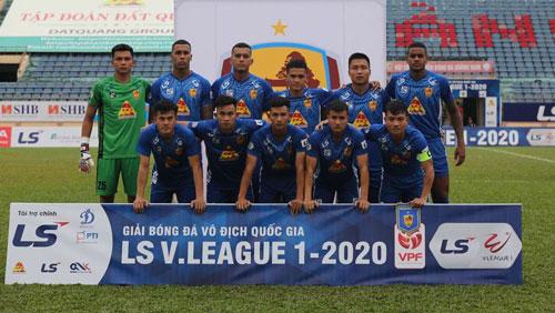 CLB Đà Nẵng mới được 1 điểm sau 2 trận ra quân.