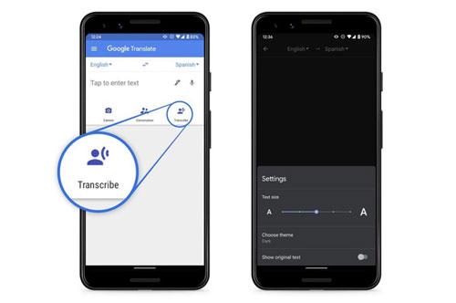 Tính năng mới của Google Dịch trên máy Android.