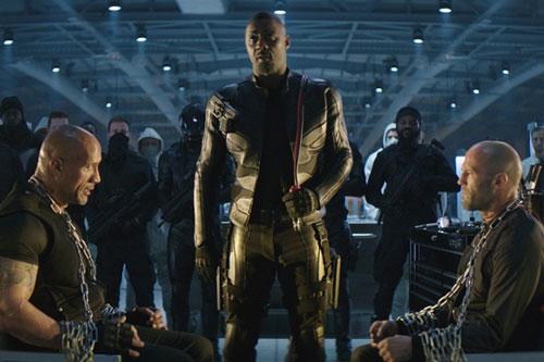 Idris Elba mới sắm vai phản diện Brixton trong Fast & Furious: Hobbs & Shaw hồi mùa hè 2019. Ảnh: Universal.