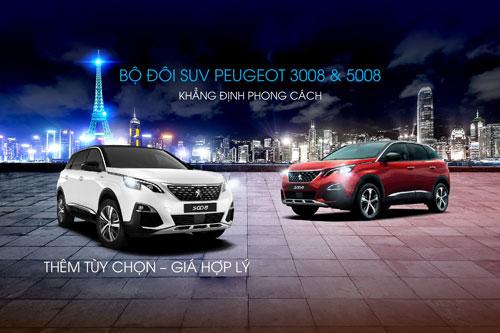 Peugeot 3008 và 5008 (L2). Ảnh: Peugeot Việt Nam.