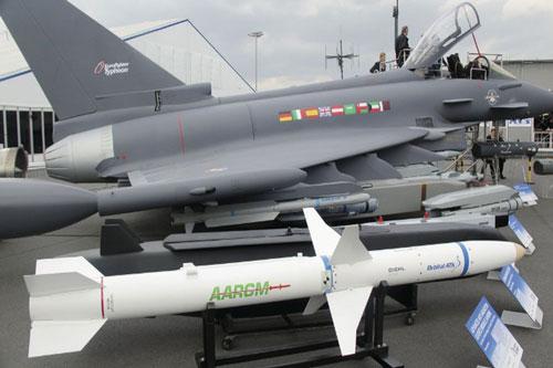 EF-2000 Typhoon, loại chiến đấu cơ có biệt danh