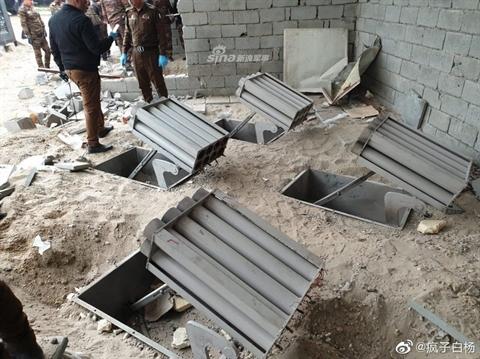 Trận địa pháo phản lực phóng loạt đã tấn công căn cứ quân sự Mỹ trên đất Iraq