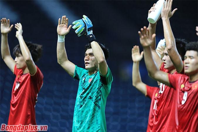 Ông Park không sử dụng toàn bộ cầu thủ U23 cho AFF Cup 2020 - Ảnh: Minh Tuấn