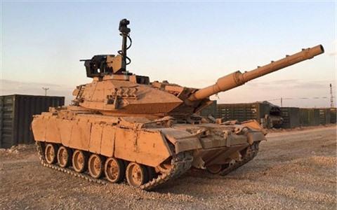 Tho Nhi Ky mat 30% so xe tang Leopard dua sang Idlib?