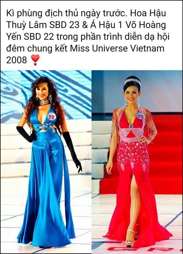 """Võ Hoàng Yến đáp trả tin đồn """"hãm hại"""" Hoa hậu Thùy Lâm năm xưa - Ảnh 1."""