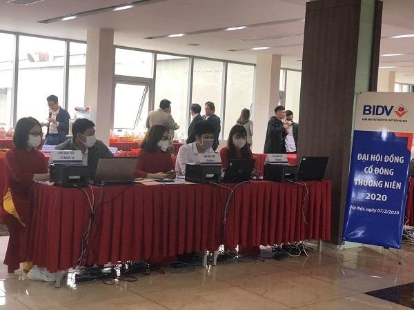 BIDV là ngân hàng đầu tiên đã tiến hành đại hội cổ đông vào ngày 7/3