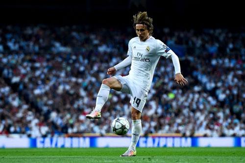 =3. Luka Modric (Real Madrid): 750 triệu USD. Ảnh: Fanatik.ro.