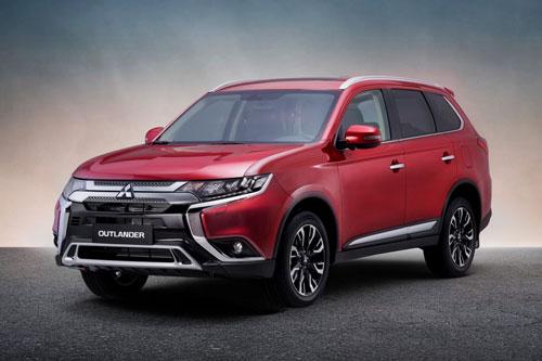 Mitsubishi Outlander 2020. Ảnh: Mitsubishi Việt Nam.