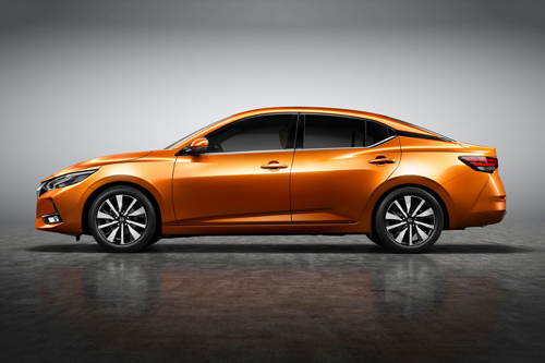 Nissan Sylphy (doanh số: 6.520 chiếc).