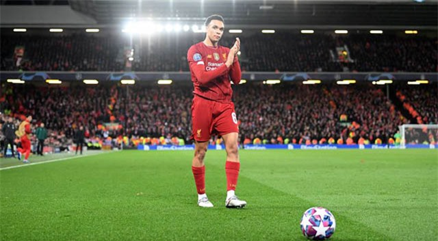 Trent đang là hậu vệ phải hàng đầu Ngoại hạng Anh và thế giới