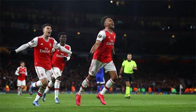 Aubameyang đang là chân sút số 1 tại Arsenal vào thời điểm này