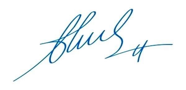 Độ nghiêng của chữ ký nói lên tính cách, tương lai