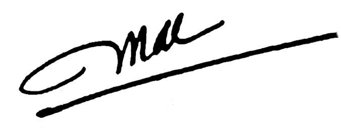 Chữ ký có một nét gạch dưới cho thấy đây là người luôn mong muốn tạo được sự ấn tượng với người khác