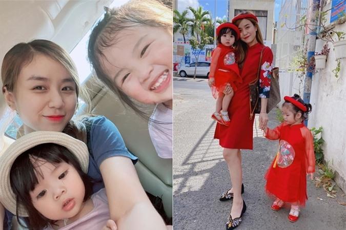 Mới 24 tuổi, cựu hotgirl Bảo Ngọc - vợ ca sĩ Hoài Lâm - đã có hai con gái. Cô sinh bé Gà năm