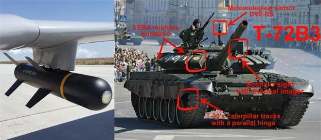 Xe tăng chủ lực T-72B3 Nga tan nát trước UAV Thổ ở Syria: Đã đến lúc T-90 xung trận? - Ảnh 1.