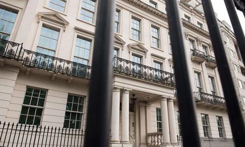 Dinh thự được bán với giá hơn 200 triệu Bảng, tương đương 262 triệu USD, ở London - Ảnh: Getty/Bloomberg