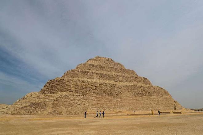 Kim tự tháp Ai Cập hoạt động trở lại vào 5/3 vừa qua. Ảnh: AFP.