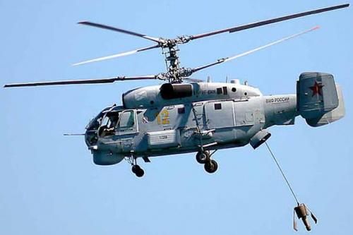 Trực thăng săn ngầm Ka-27PL của Nga. Ảnh: TASS.