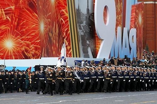 Lễ duyệt binh Ngày chiến thắng trên Quảng trường Đỏ năm nay có thể bị hủy bỏ. Ảnh: RIA Novosti.