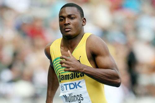 8. Steve Mullings (Jamaica). 9,80. Ảnh: Thetimes.co.uk.
