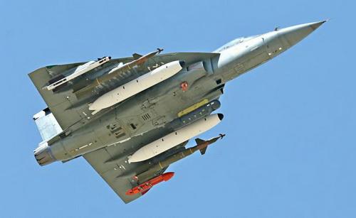 Tiêm kích hạng nhẹ HAL Tejas của Ấn Độ. Ảnh: Topwar.