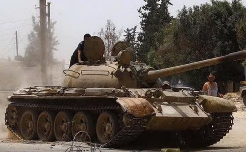 Chiến sự tại Libya đã tạm dừng do dịch bệnh COVID-19. Ảnh: Al-Arabya.