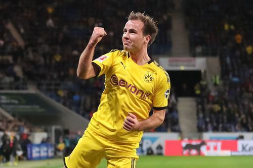 3. Mario Gotze (Borussia Dortmund).