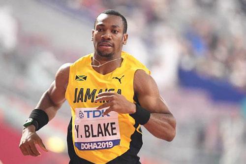 =2. Blake Yohan (Jamaica). 9,69. Ảnh: Worldathletics.org.