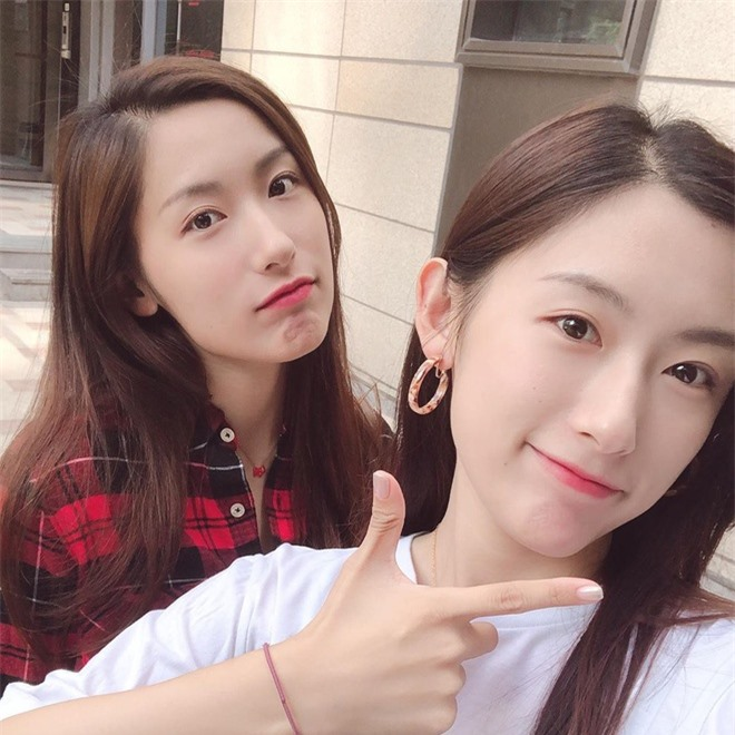 'Cặp chị em đẹp nhất Đài Loan' và các đôi song sinh nổi tiếng MXH - Ảnh 5