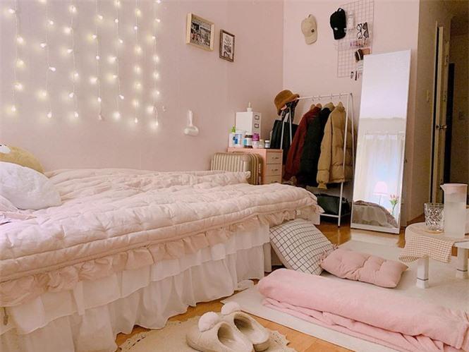 Cô gái 'tân trang' phòng trọ cũ đẹp như mơ khiến dân mạng trầm trồ - ảnh 6