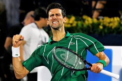 Djokovic cần thêm thời gian để phá kỷ lục của Federer. Ảnh: Reuters.