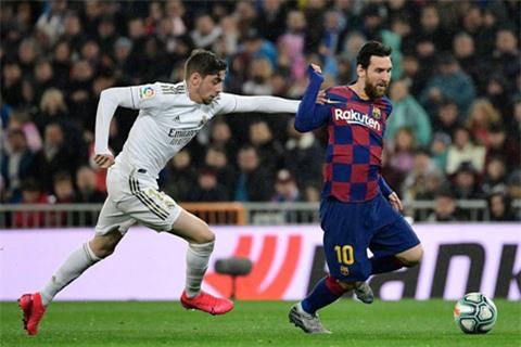Valverde có tốc độ cao nhất lịch sử Real