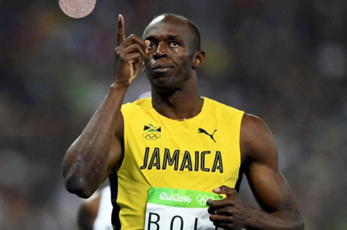1. Usain Bolt (Jamaica). 9,58 giây. Ảnh: Sportnieuws.nl.