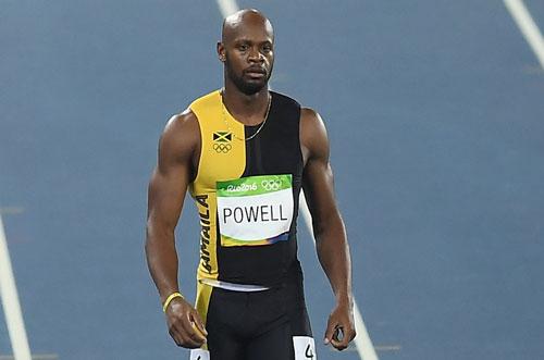 4. Asafa Powell (Jamaica). 9.72. Ảnh: Gc2018.com.