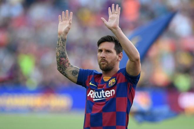 Messi có thể rời Barca ở hè 2020 nếu muốn. Ảnh: Getty.
