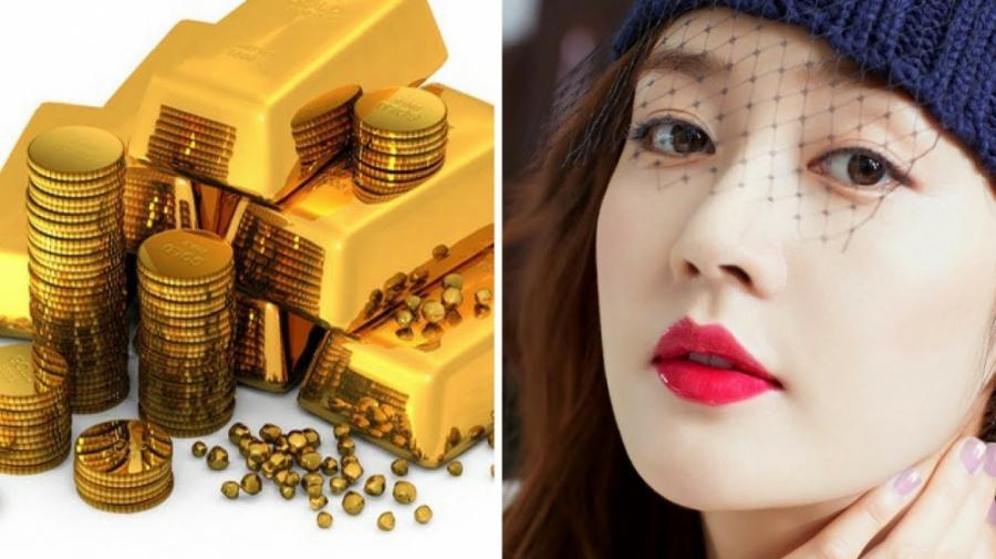 Phụ nữ có môi anh đào giàu có