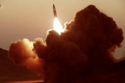 Triều Tiên tiếp tục tiến hành các vụ thử tên lửa. Ảnh: Yonhap.