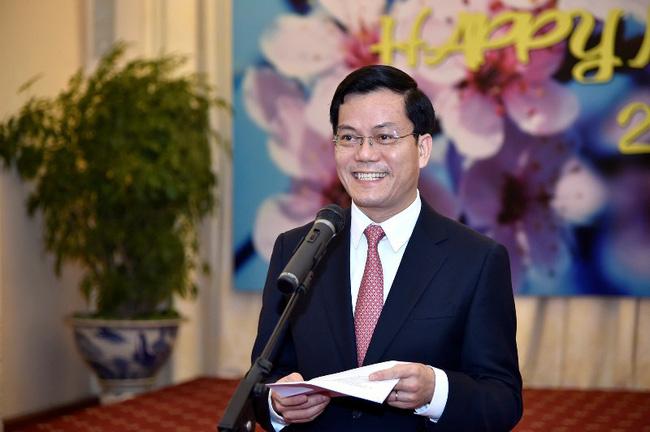 Đại sứ Việt Nam tại Hoa Kỳ Hà Kim Ngọc.