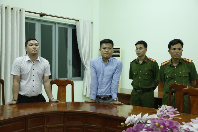 Nguyễn Thanh Hùng (trái) và Hoàng Anh Vui (phải) bị bắt giữ cuối tháng 2/2020. Ảnh: CACC