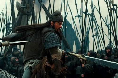 Tạo hình Quan Vũ trong phim.