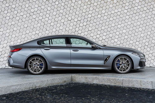 4. BMW 8-Series Gran Coupe.