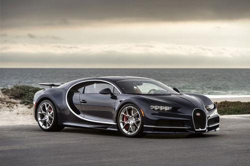5. Bugatti Chiron.